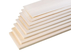 Image 3 - AAA+ Balsa Wood Sheet ply 500mm long 100mm wide 1/1.5/2/3/4/5/6/8/10mm thick for airplane/boat model DIY