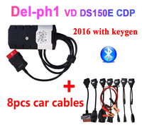 2019 NEW VCI ds150e cdp pro plus 2016.r0 with keygen for delphis obd2 diagnostic repair tool led 3in1 Scanner for cars trucks