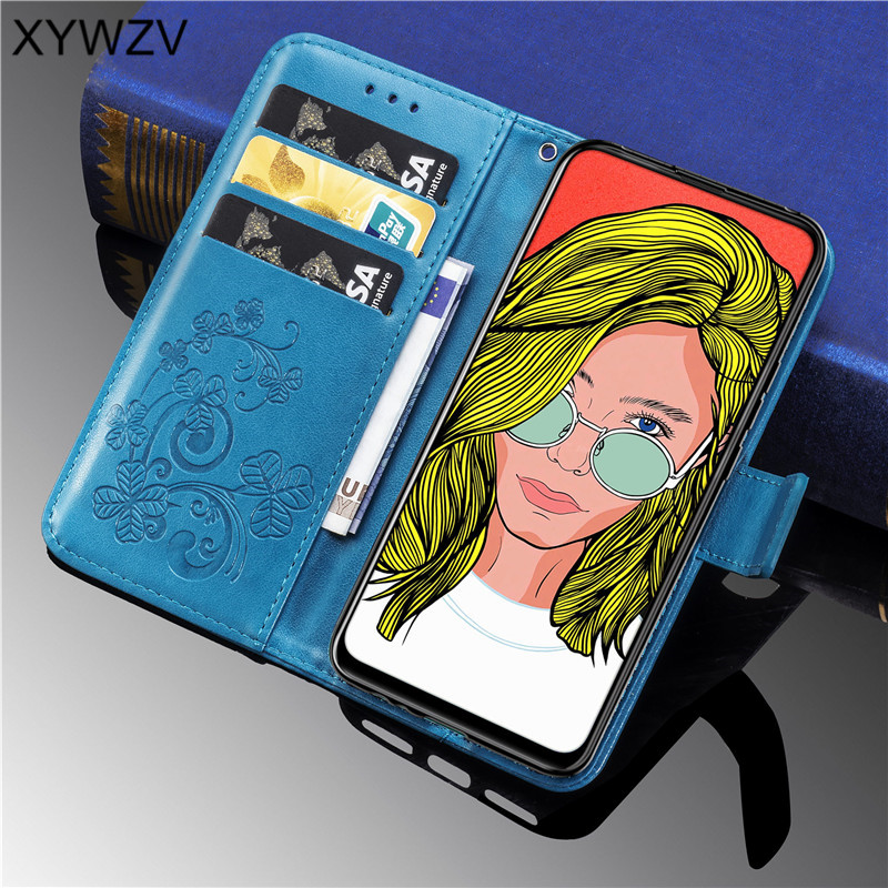 Huawei P Smart Z Case Soft Silicone Filp Wallet Shockproof Phone Case Card Holder Fundas For Huawei P Smart Z Cover P Smart Z-in Flip Cases from Cellphones & Telecommunications