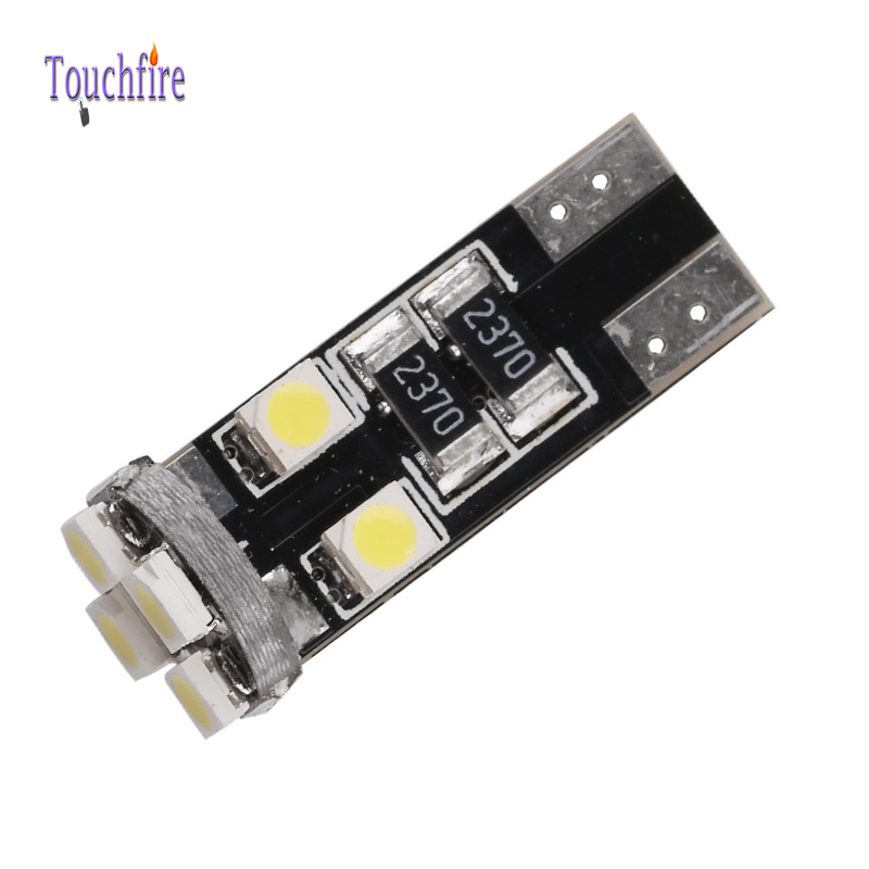 10pcs t10 1210smd License plate Car indicator 8LED Lamp width DC 12v Auto turn signal brake Clearance Canbus light