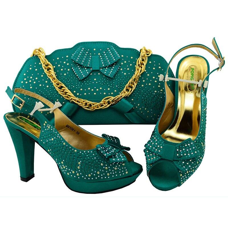 Femmes Blue Femme teal Sac Assortir Parties Nigérian Sacs Teal Couleur Ensembles Chaussures Assortis Royal À coral purple gold Et red Italiennes Avec Les Pour 7fgv6byIY