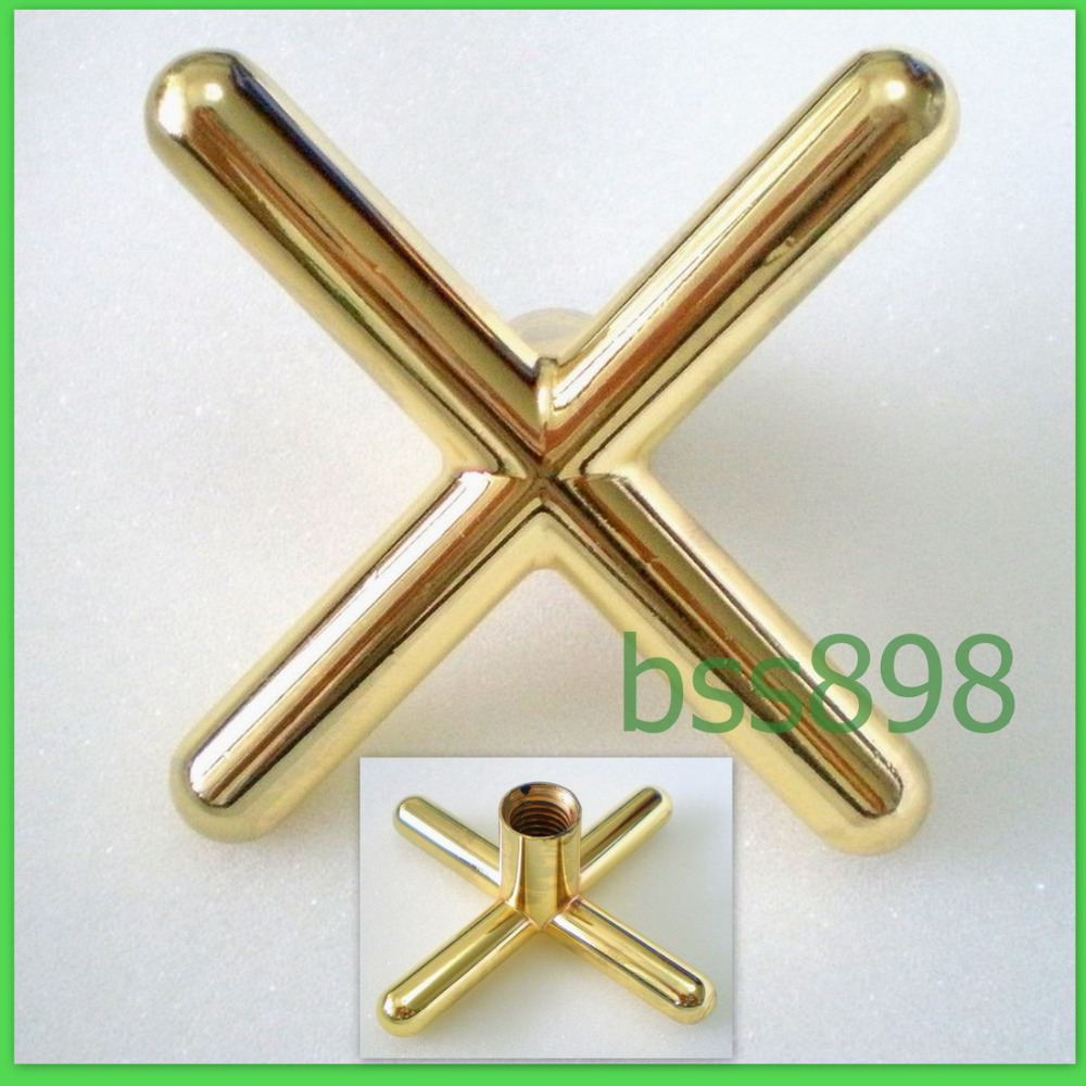 Free Shipping 1PCS/LOT Brass Metal Cross Rest Head For Pool Snooker Billiard Table Sticks