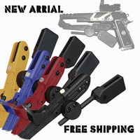 Free Shipping Black Red Blue Yellow Tactical Right Hand IPSC Style Universal CR Speed Holster For