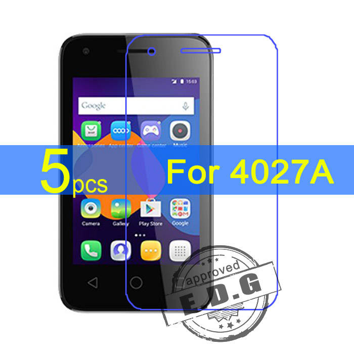 Galleria fotografica 5pcs Ultra Clear LCD Screen Protector Film Cover For Alcatel One Touch pixi 3 4.5