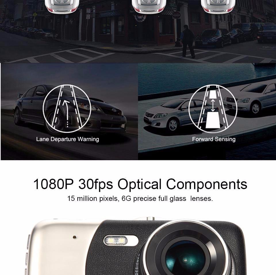 Camera hành trình 2 mắt Hoàng Gia R1