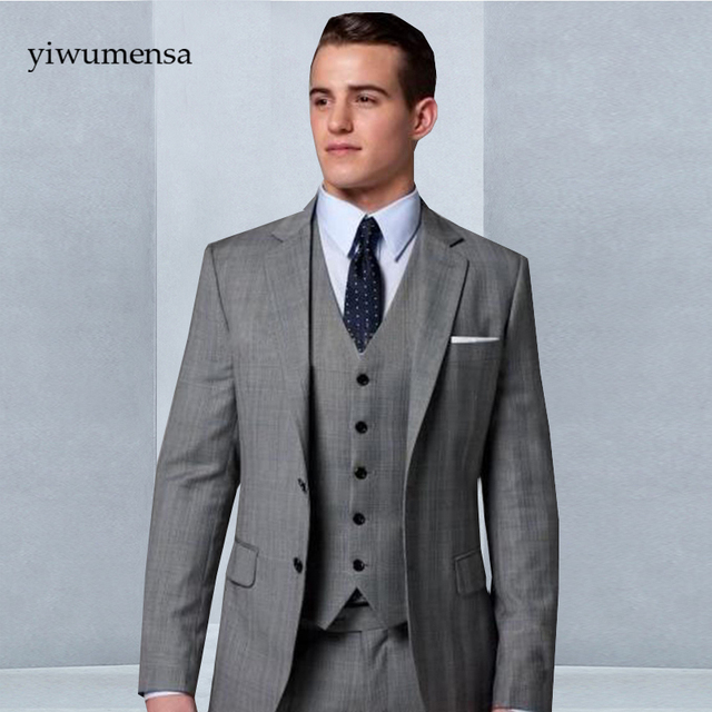 28cd32338 YWMS-272 Pantalones terno blanco para hombre precio barato hombres traje  novio esmoquin trajes para