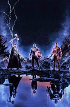 цена на Thor Thor Hulk Captain America Movie Poster Art Print Silk or Canvas Poster 16x24 24x36 Inch Custom Living Room Decoration