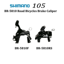 Shimano 105 BR-5810 Dual Pivot Calliper V Brake BR5810 Road Bicycle front and Rear Brake Caliper цена и фото
