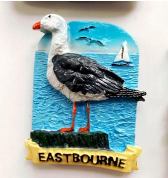 British Eastbourne refrigerator in Fridge Magnets from Home Garden