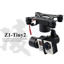 F16637 Zhiyu Z1-Tiny 2 3-AxLE Brushless FPV Aerial Camera Gimbal for Gopro Hero 4 DJI Phantom 2 3 F450 F550 X525 RC Quadcopter