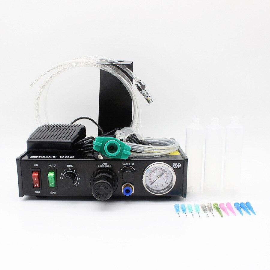 цена на Free ship by DHL FT-982 manual dispenser, dual-mode foot 982 FT-982 semi-automatic dispenser dispenser