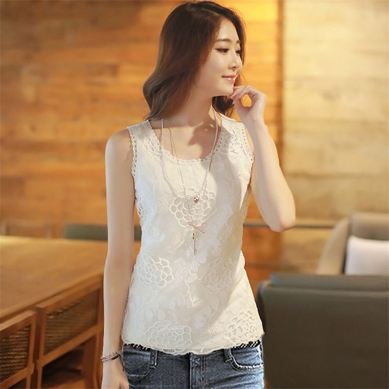 HTB1CQ3OKFXXXXaEXFXXq6xXFXXXk - Plus Size Women Summer Sexy Blouse Shirt Elegant Sleeveless V Neck
