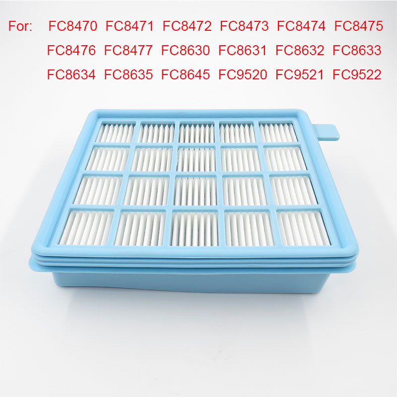 Vacuum Cleaner Filters Hepa Filter for Philips Vacuum Cleaner FC8470 FC8471 FC8472 FC8473 FC8474 FC8476 FC8477 FC8630 FC8631 1 set vacuum cleaner parts filters hepa filter fc8630 air outlet filter for philips fc8672 fc8670 fc8471 8472 8474 fc8633 fc9320
