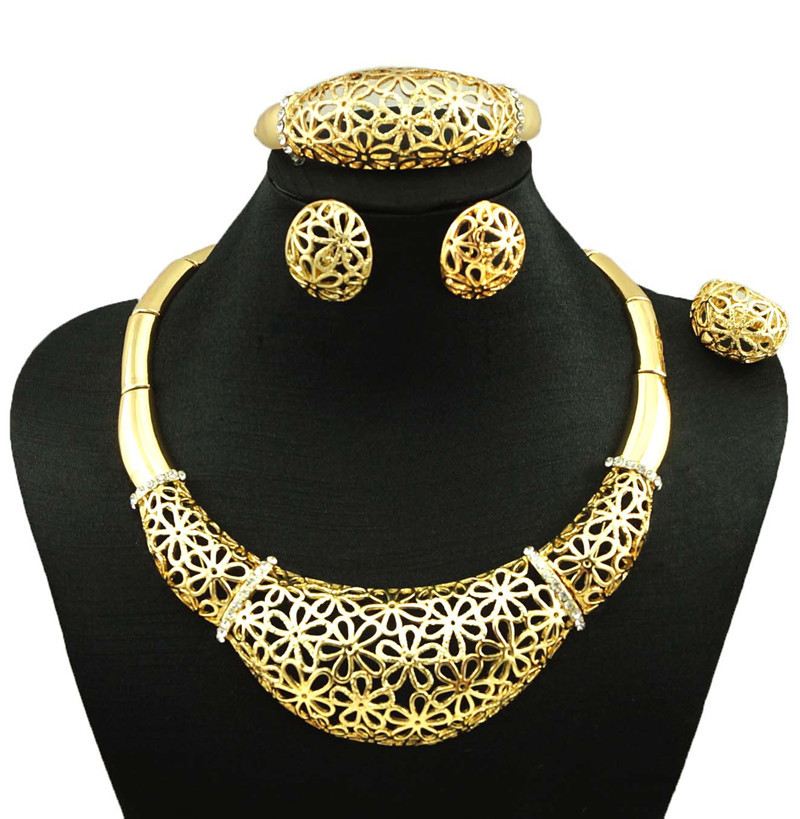 bridal jewelry set super quality african big jewelry sets wedding costume jewellery fine necklacechina