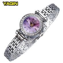 YAQIN marca señoras de la manera relojes de diseño colorido con estilo lindo mujeres reloj pulsera