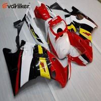 Custom order+yellow white red black motorcycle cowl for CBR600F2 1991 1994 CBR600 F2 91 92 93 94 ABS Plastic motorcycle fairing