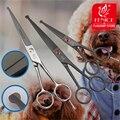Высокое Качество Нержавеющей Стали 4.5 7.0 дюймов Pet Собака Холить Инструменты Режущие Маленькие Ножницы с Безопасности Округлые Советы Ножницы
