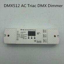 AC100-240V симистор DMX512 диммер 2 канала симистор DMX диммер, двухканальный выход кремния DMX 512 контроллер AC toDMX512dimmer S1-D