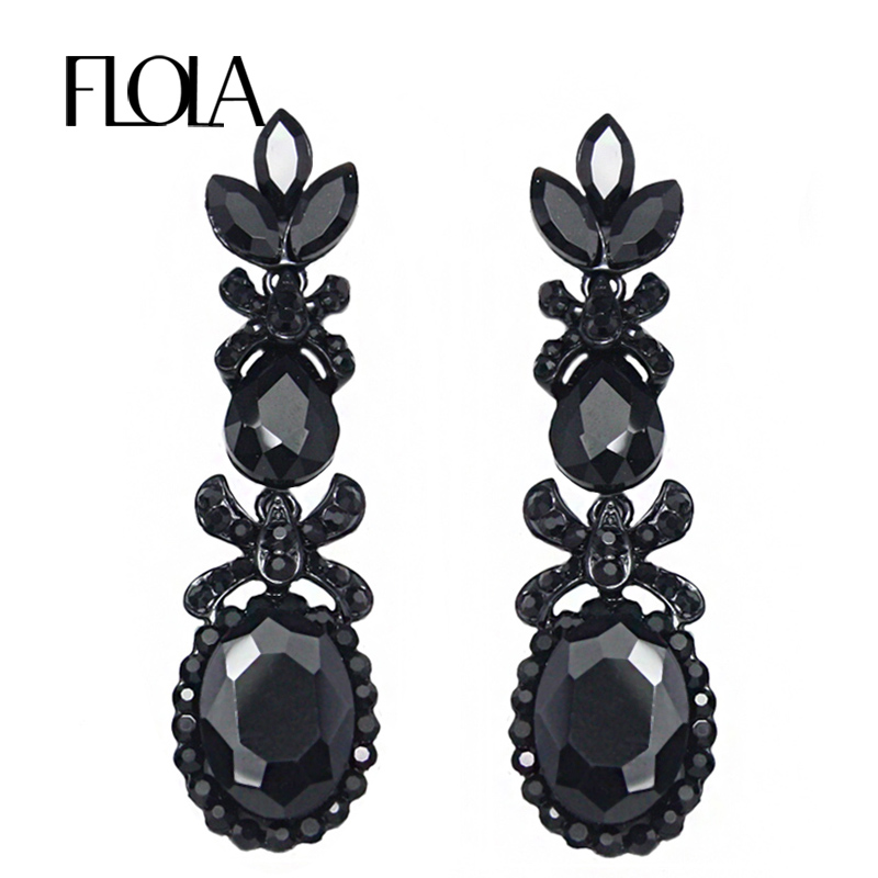 black earrings for womens aliexpress buy new vintage black 5424