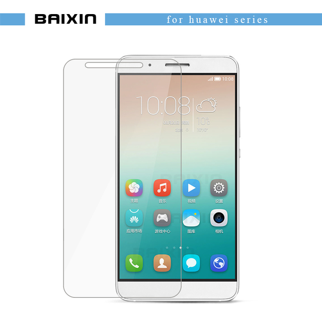 0.3mm 2.5d HD Tempered Glass Screen Protector For huawei Ascend P8 Lite for honor 3c 3x 4c 4x 6 6 plus 7 7i protective Film Case