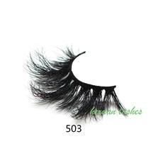 25mm 5D Eyelashes Mink  False Cruelty Free Volume Lashes Dramatic Eye lashes Makeup