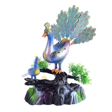 Get more info on the Sound Control Bird Voice Control Peacock Open Screen Music Lighting Induction Sound Control Toy