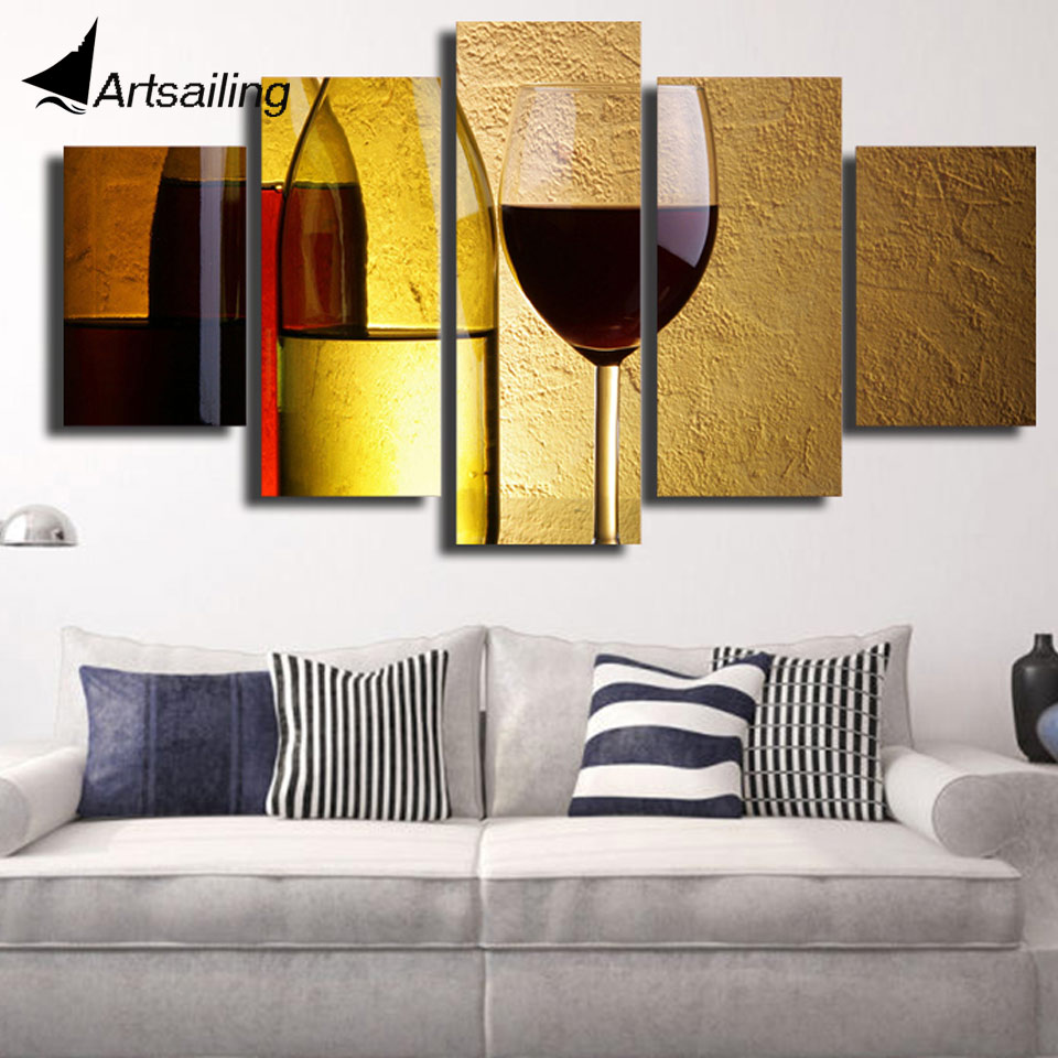 Nice Canvas Wall Art Red Gallery - The Wall Art Decorations ...