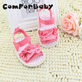 Soft Pink Cotton Lace  Princess Non-slip Baby Shoes Toddler Shoes Soft Bottom Baby Shoes WMC250