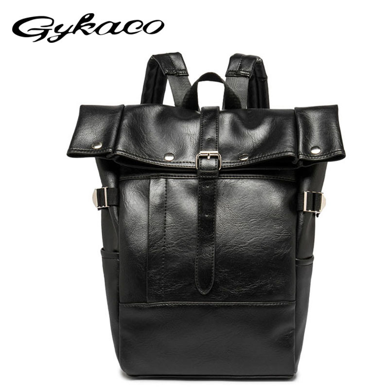High Quality Large Capacity Mens Leather Backpack for Male Travel Casual College Men Daypack Travle Backpack mochila Anti-theft