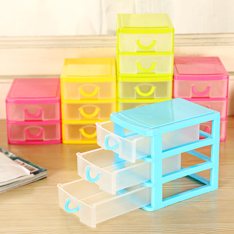 2 And 3 Layers Mini Desktop Drawer Storage Box Sundry Case Small Objects  Cosmetics Box Wholesale Desktop Organizer In Storage Holders U0026 Racks From  Home ...