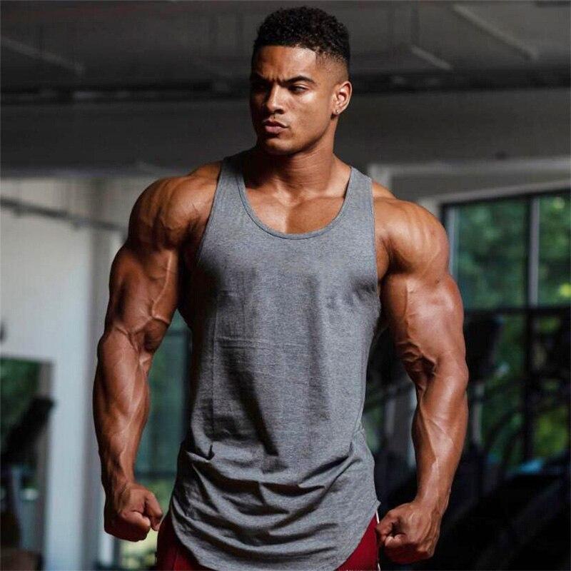 Brand Sleeveless Sport T Shirt Men Gym Tank Top Men Running Vest Sport Compression Gym Fitness Sleeveless Bodybuilding Tshirt