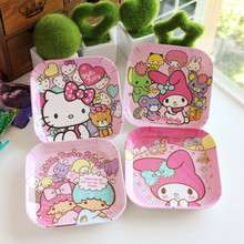 Baby Food Service Plate Cartoon Cute Melamine Kids Plate Chi
