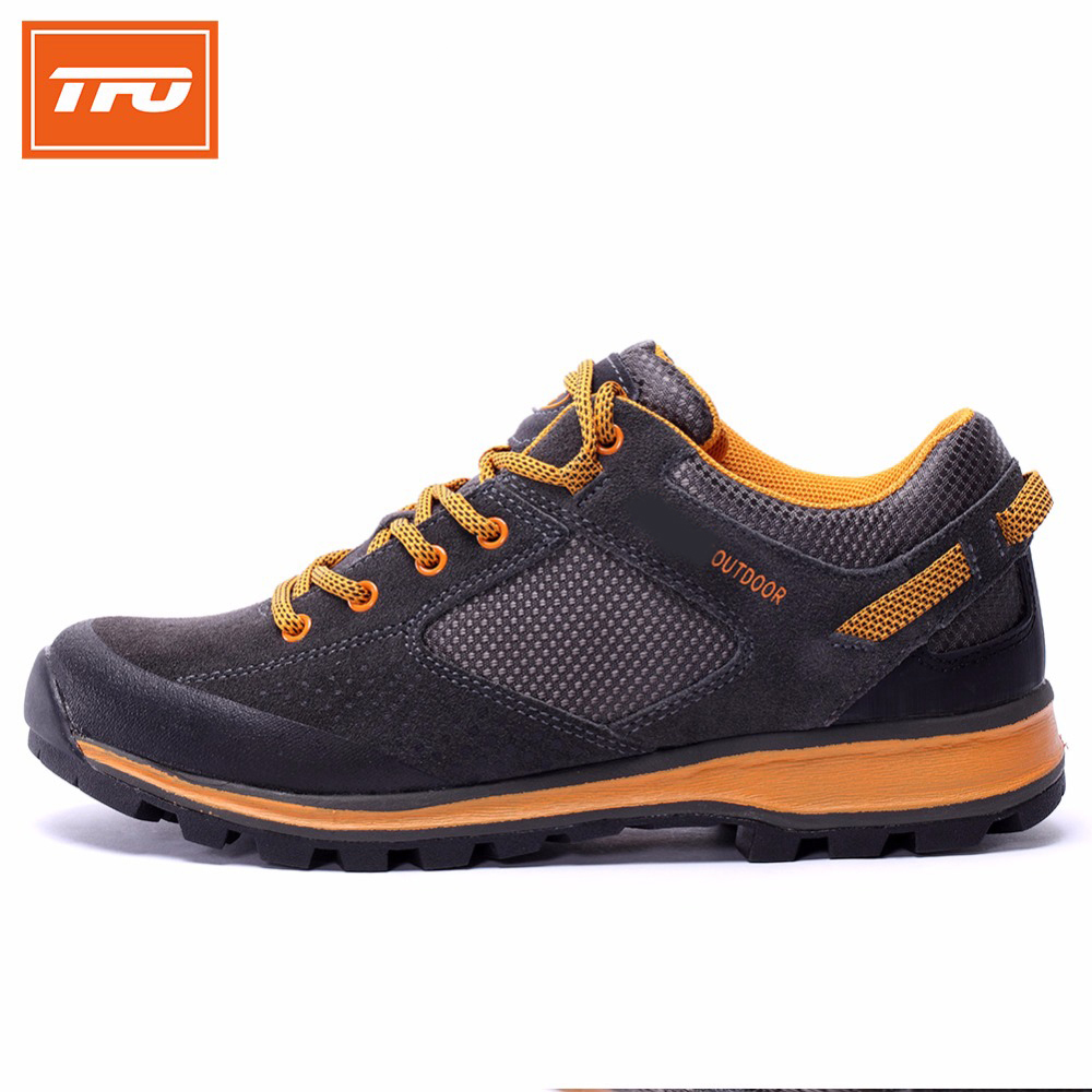 TFO Hiking shoes men outdoor shoes sport climbing mountain athletic breathable anti-slip waterproof hunting camping fishing new tfo men hiking shoes outdoor sport shoes men climbing mountain sneakers trekking hunting fishing breathable waterproof man brand