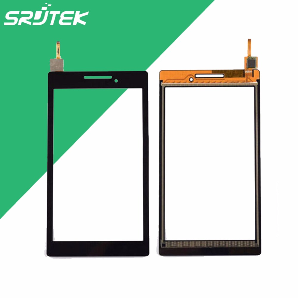 High Quality 7'' For Lenovo Tab 2 A7- 10F Touch screen Digitizer Glass Sensor A7-10 Repairment Parts Panel With Free Shipping  50pcs high quality 4 7 for lg l90 d410 dual sim card touch screen digitizer sensor glass lens panel black white free shipping
