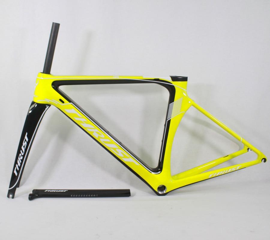 카본 프레임 도로 자전거 48 50 52 54 56 센치 메터 UD 자전거 프레임 매트 광택 BB30 BSA 700C 바퀴 9 색 Di2 기계 2 년 보증