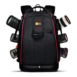 Image 1 - wholesale free shipping  NOVAGEAR 80404 big one Professional digital camera bag slr anti theft  camera backpack fashion