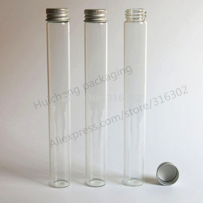 Free Shipping -  200/pcs new arrival 45ml screw neck glass essential oil  bottle with aluminium cap,carft/storage bottle glass bottle