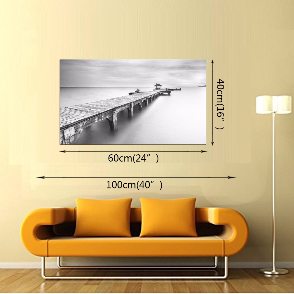 Latest Wall Decor 1 Panel Modern Wall Art Home Decoration Frameless ...