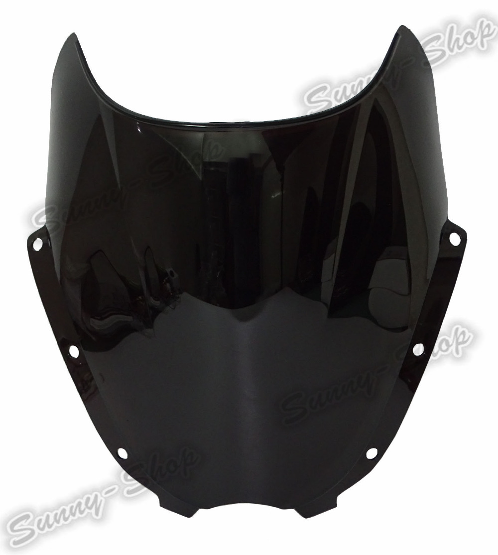 Double Bubble Windscreen Windshield Shield Screen For HYOSUNG GT125 GT250 GT250R GT650 GT650R GT650S 2005 2006