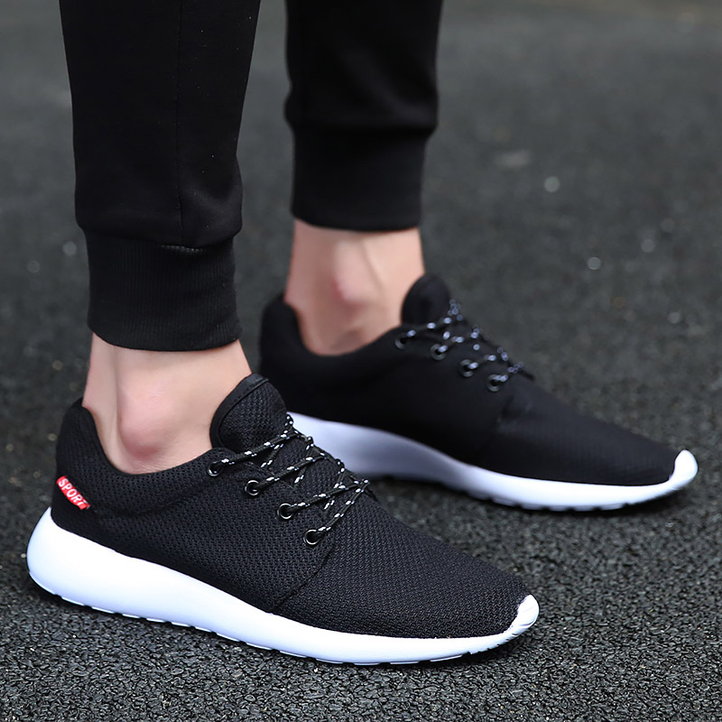 Hundunsnake Summer Man Sneakers 2018 Male Sports Shoes Men Running Shoes Sports Sport Shoes Men Krassovki Mens Gumshoes T356
