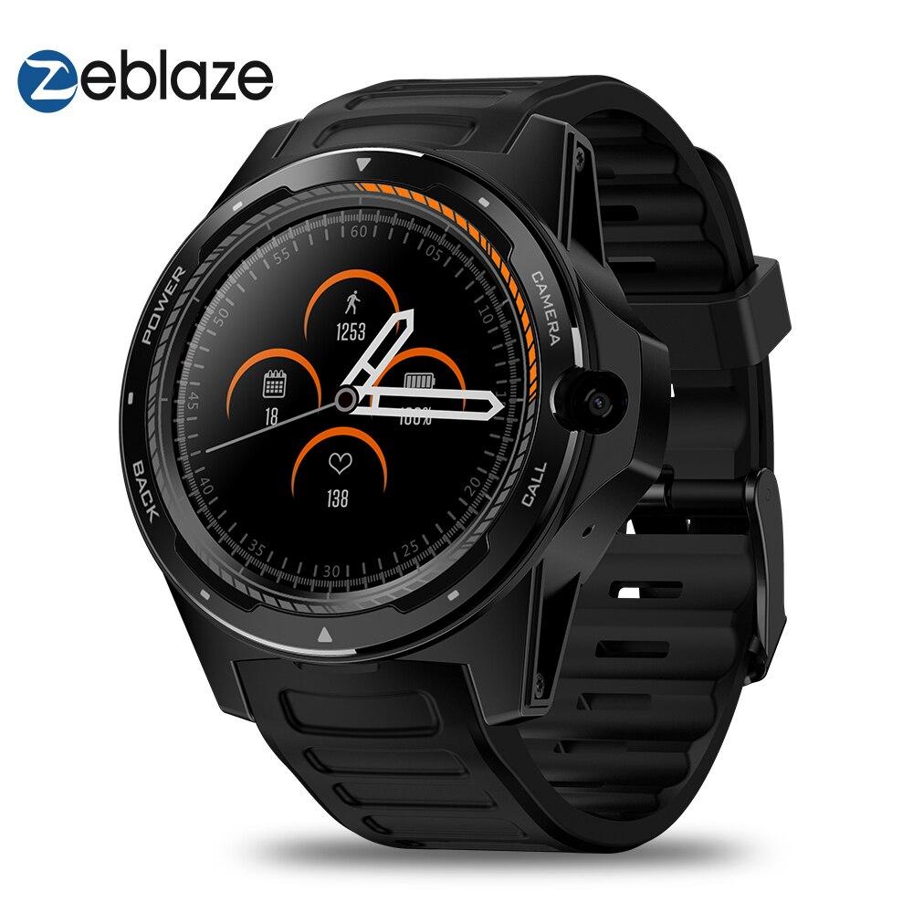 Novo THOR Zeblaze 5 Dual Sistema Híbrido Smartwatch 1.39
