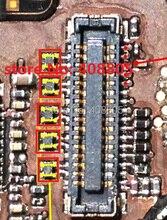 10ピース/ロットためのipadミニ液晶画像lcdデータフィルタースクエアキャップ送料無料