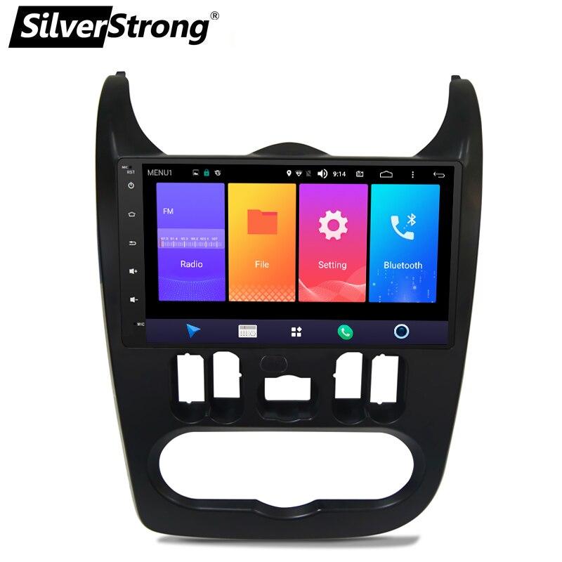 SilverStrong 4 グラムモデム Android9.0 9 インチ Android の車の Gps ルノー Logan 私はサンデロ Lada Lergus Dacia ダスター  グループ上の 自動車 &バイク からの 車用マルチメディアプレーヤー の中 2