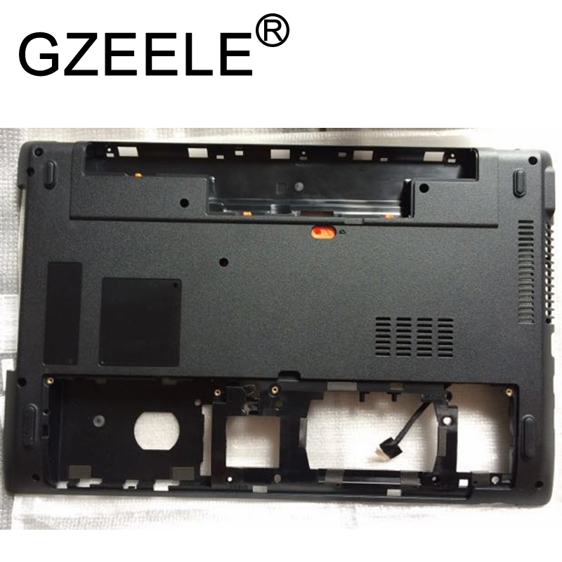 GZEELE New For Acer Aspire 5560 5560G MS2319 Bottom Base Lower Case Cover 39.4MF.02.XXX WIS604MF2000 Chasis Cover Plastics BLACK-in Laptop Bags & Cases from Computer & Office