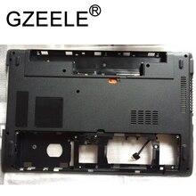 Gzeele novo para acer aspire 5560 5560g ms2319 inferior inferior caso capa 39.4mf. 02.xxx wis604mf2000 chasis capa plásticos preto