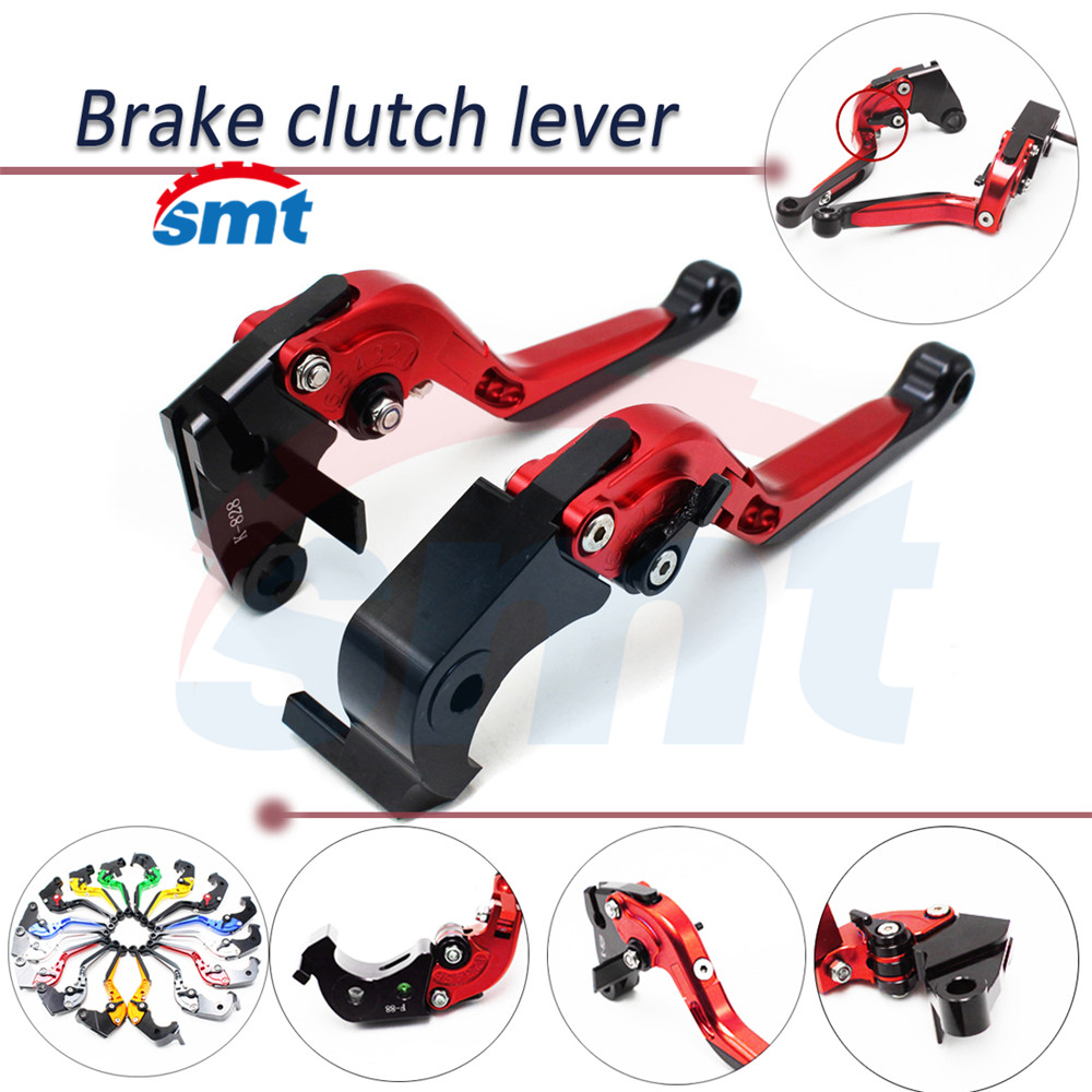 ФОТО 8 colors optional motorcycle brake clutch lever red color clutch brake lever For HONDA NC700 S/X 2012-2013