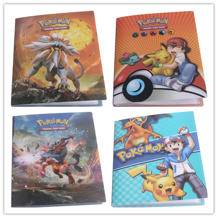 Pikachu Collection 240 Pokemon Book cards holder album gift