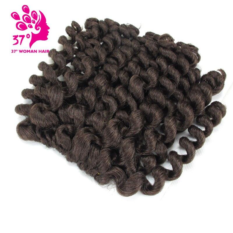 8 polegada Jumpy Varinha Onda sintético Tranças De Crochê 20 Raízes Jamaicanas Salto Cabelo Trança de Crochê