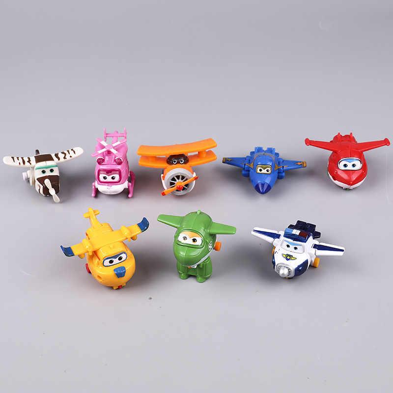 Juguetes infantiles Ins Mini superalas modelo de avión de dibujos animados ornamento encantador para niño fabricación figura original juguetes Lodi Dodo