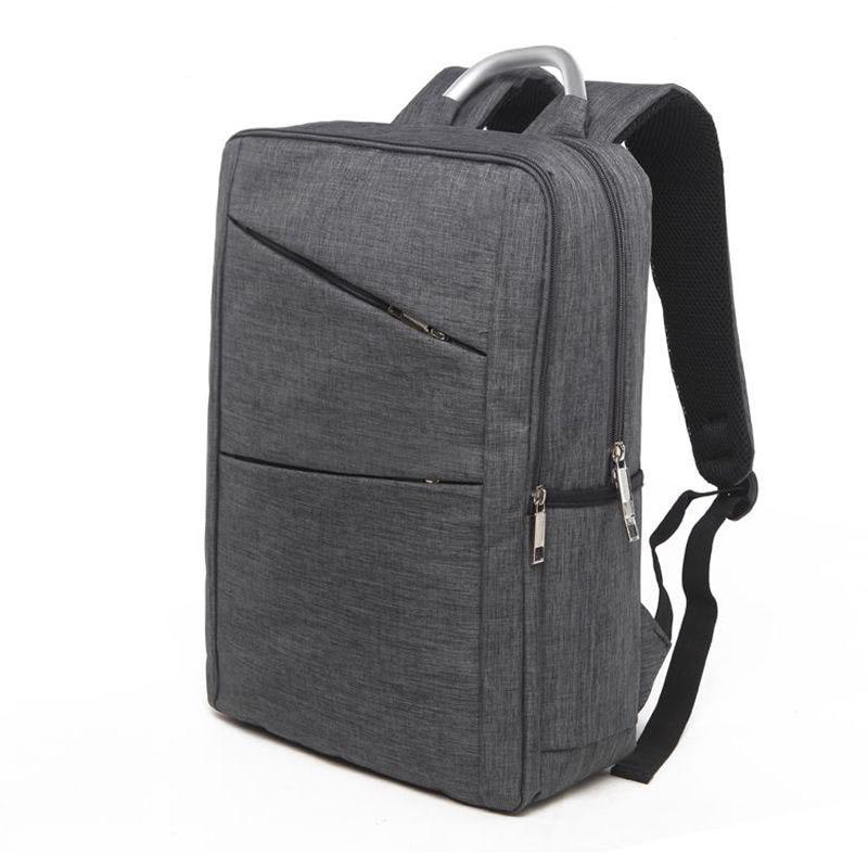 Waterproof Men Laptop Backpack Business Computer Backpack Bag 17 Inch Women Men's Bag Backpack Grey leisure Backpacks School Bag